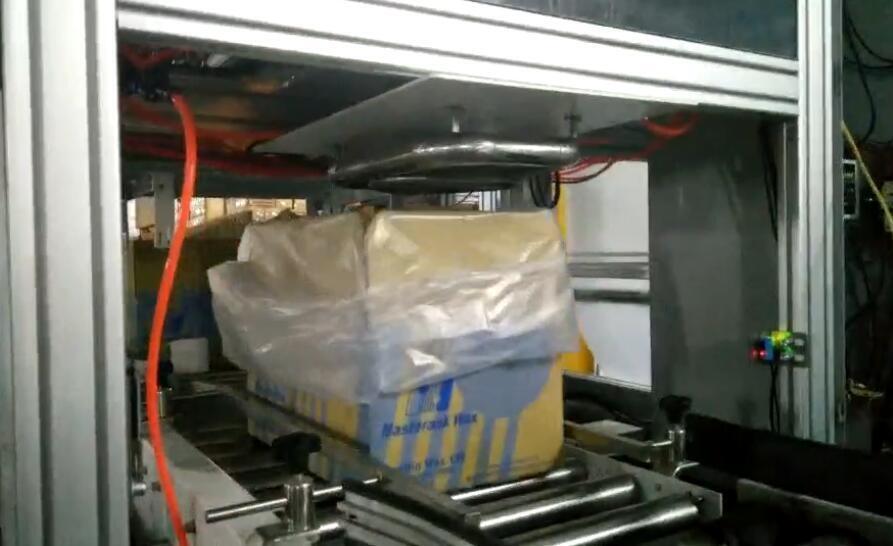 该如何定制纸箱套袋机的机器