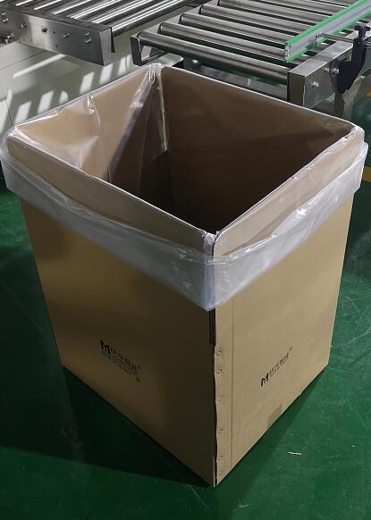 纸箱套袋机是给纸箱内套袋的,千万不要搞错了
