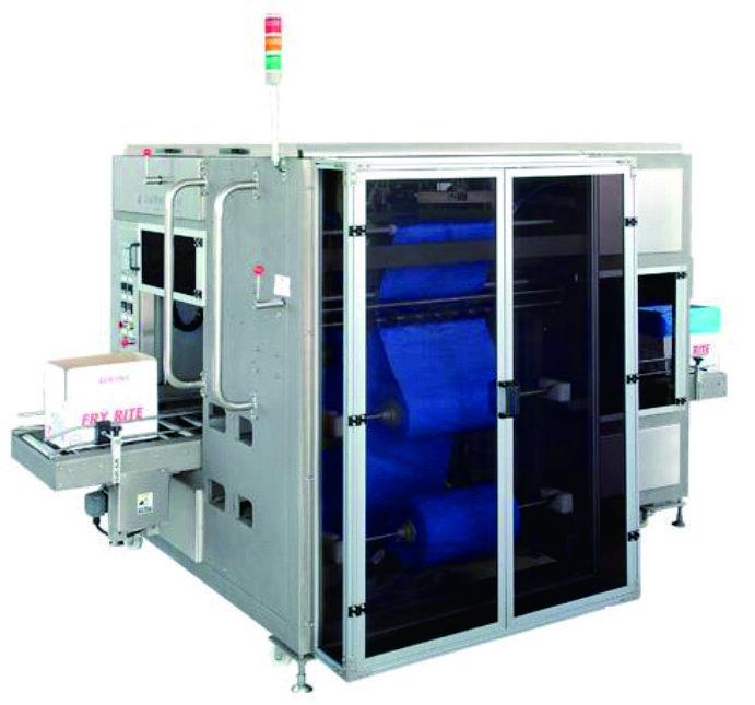 YMZXTD-01 自动纸箱套内袋机