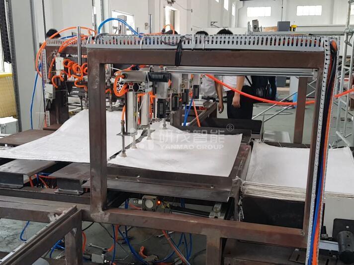 编织袋套内袋机 编织袋套塑料膜袋机器